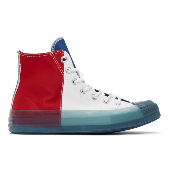 Converse Multicolor Transparent Sole Chuck 70 High Sneakers