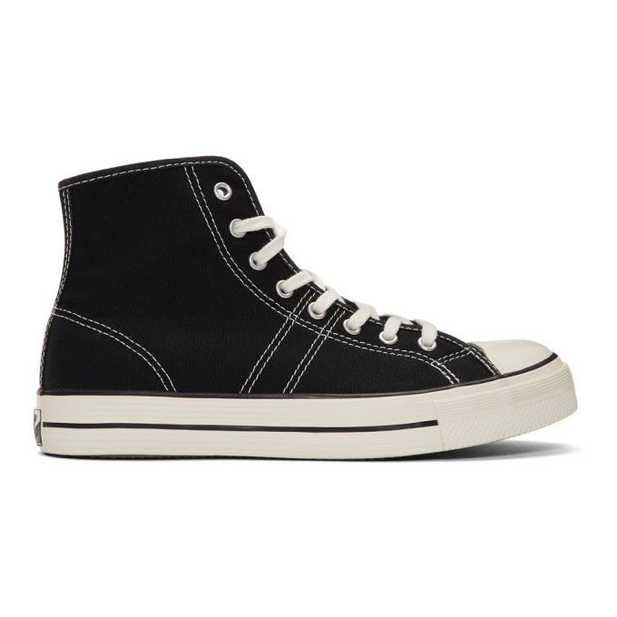 Image of Converse Black Lucky Star High Top Sneakers