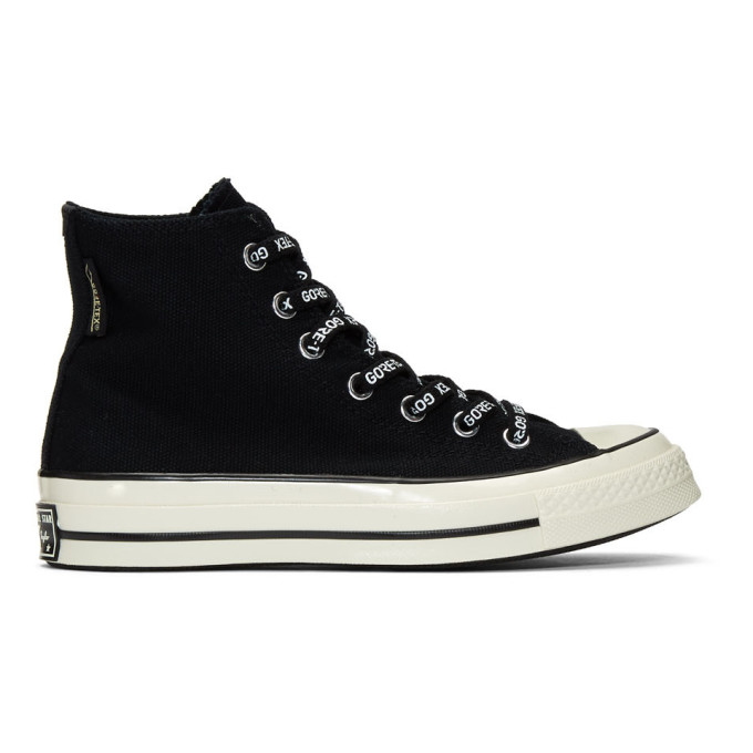 Image of Converse Black Gore-Tex Chuck 70 High Sneakers