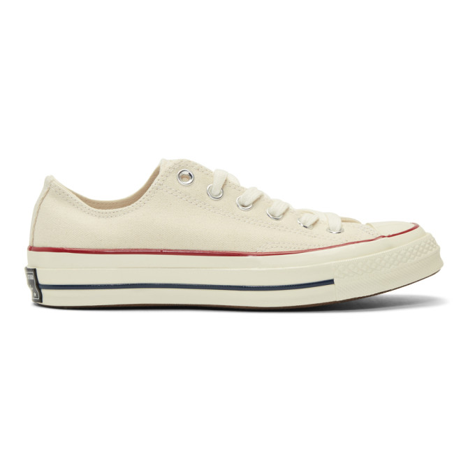 4821b3344e7b Converse 1970S Chuck Taylor All Star Canvas Sneakers - White In Parchment