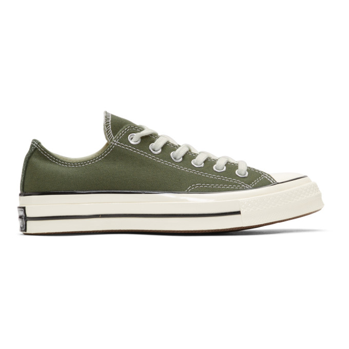 Converse Green Chuck 70 Low Sneakers