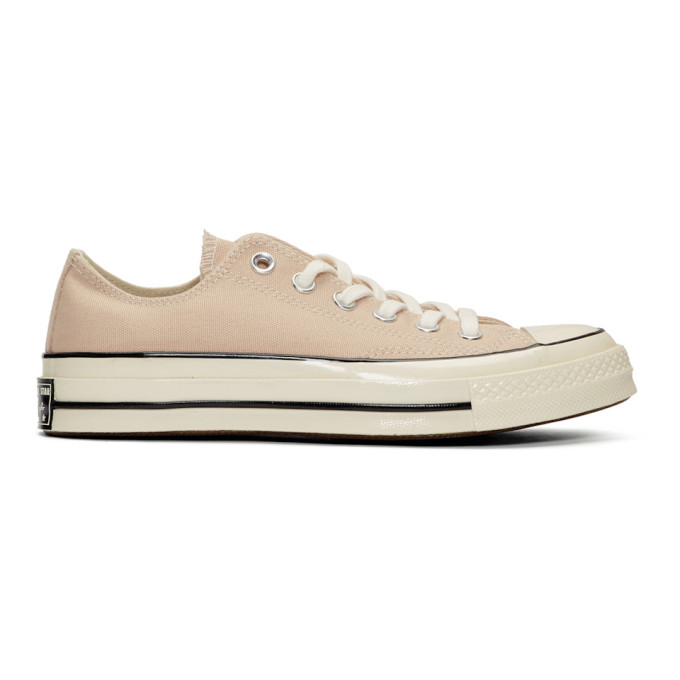 Converse Beige Chuck 70 Low Sneakers