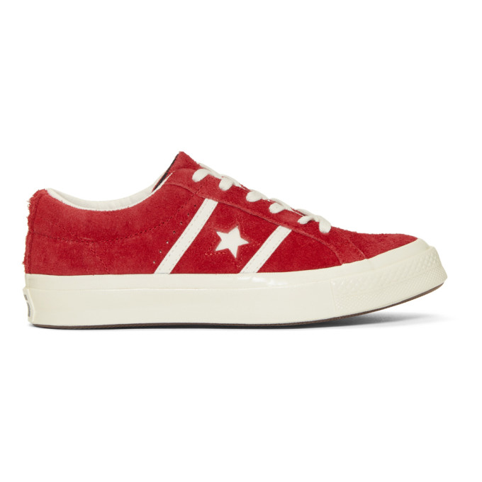 Image of Converse Red One Star Academy Sneakers