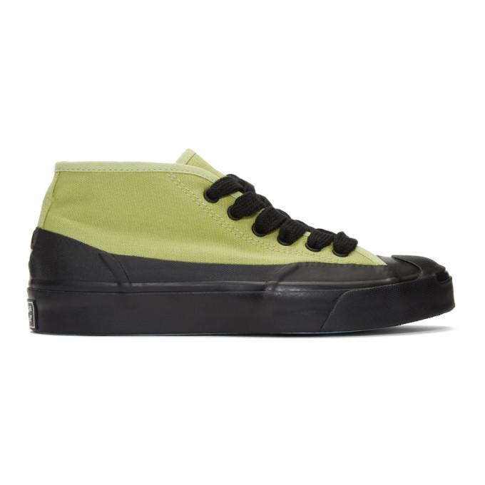 Image of Converse Green A$AP Nast Edition JP Chukka Mid Pump High-Top Sneakers