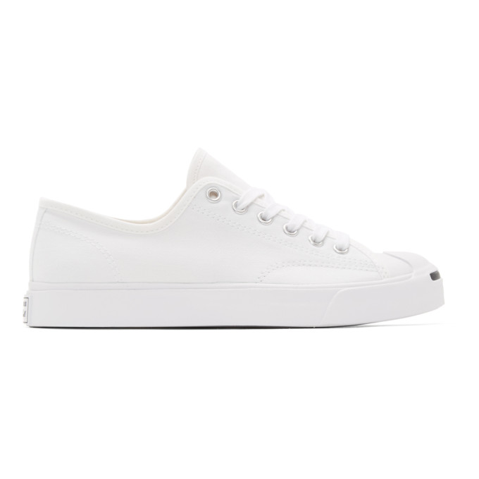 Image of Converse White Jack Purcell Sneakers