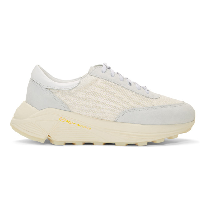 Our Legacy Baskets blanc casse Mono Runner