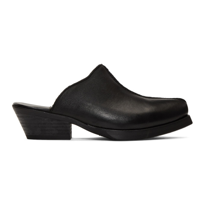 Our Legacy Loafers OUR LEGACY BLACK SLIP-ON LOAFERS