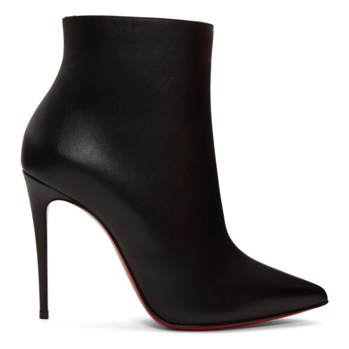 3638dd57ce2 Christian Louboutin Black So Kate Ankle Boots