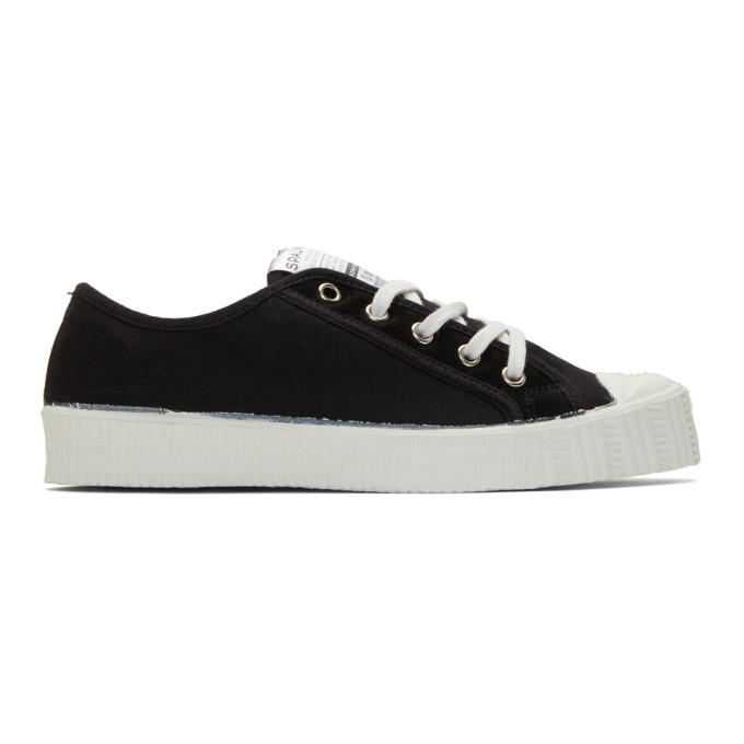 Spalwart Black Twill Special Low BS Sneakers