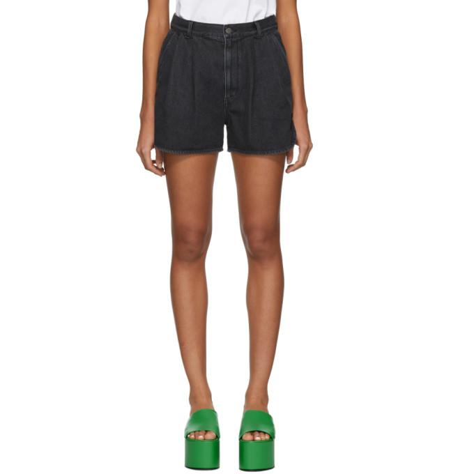 Image of Ambush Black Denim Shorts