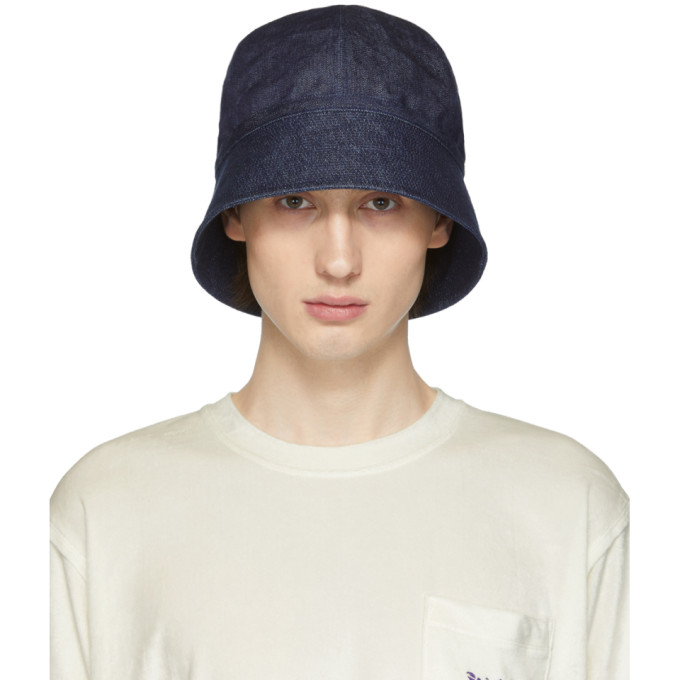 NEEDLES | Needles Indigo Sailor Hat | Goxip