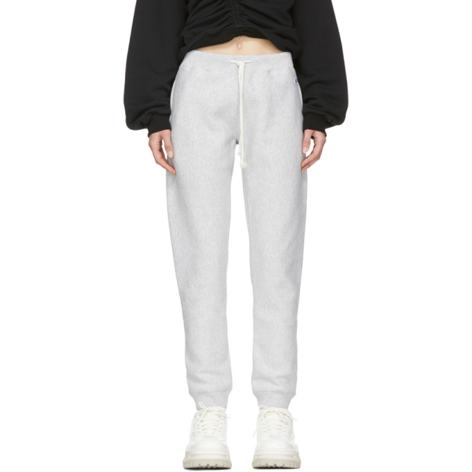 Image of Champion Reverse Weave Grey Classic Lounge Pants