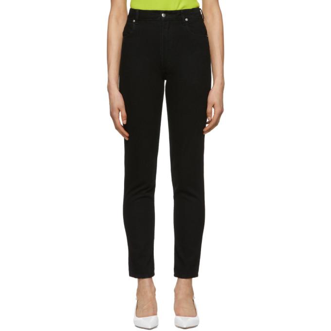Image of Eckhaus Latta Black EL Jeans
