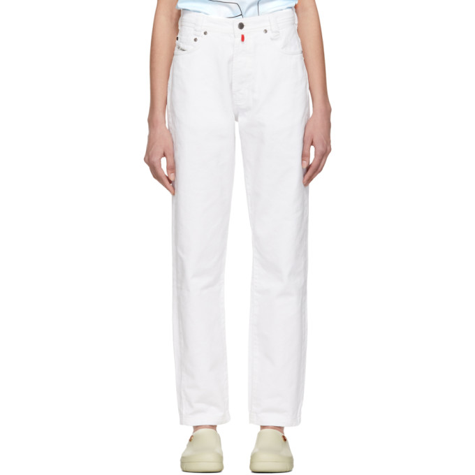 032c White Cosmic Workshop Soft Washed Jeans 191843F06900202