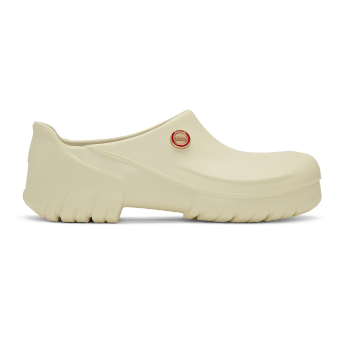 032c White Birkenstock Edition Super Birki Clogs