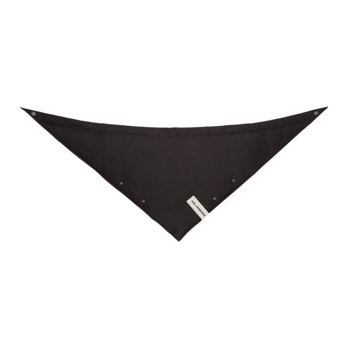 032c Black Cosmic Workshop Triangle Scarf 191843M15000101