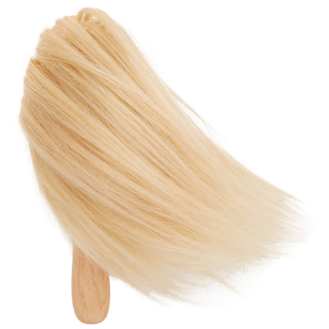 Image of Bless Beige Big Hairbrush