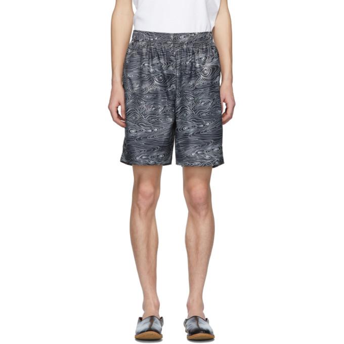 Image of Bless Black Woodgrain Sport Shorts