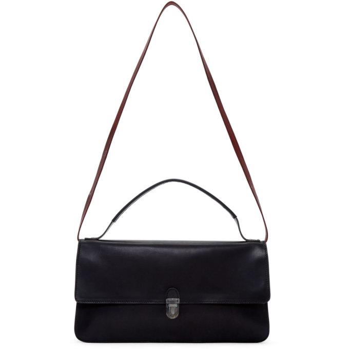 Image of Cherevichkiotvichki Black Small Triple Prism Bag