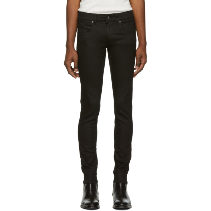 Tiger Of Sweden Jeans Black Blackened Skinny Jeans