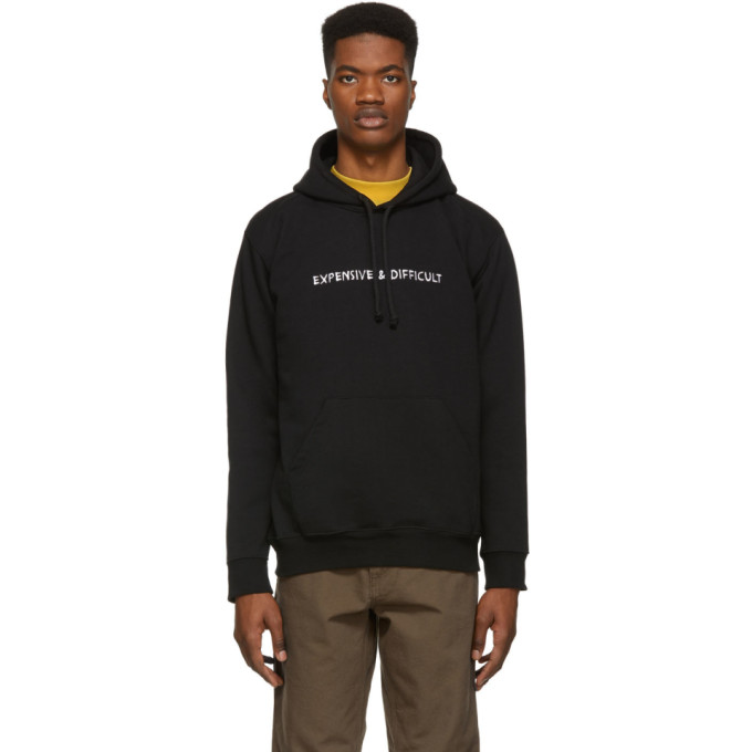 Image of Nasaseasons Black 'Expensive & Difficult' Hoodie