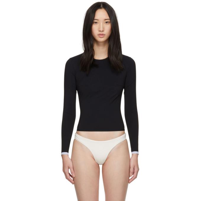 Ward Whillas Haut de bikini dermoprotecteur noir Marlen