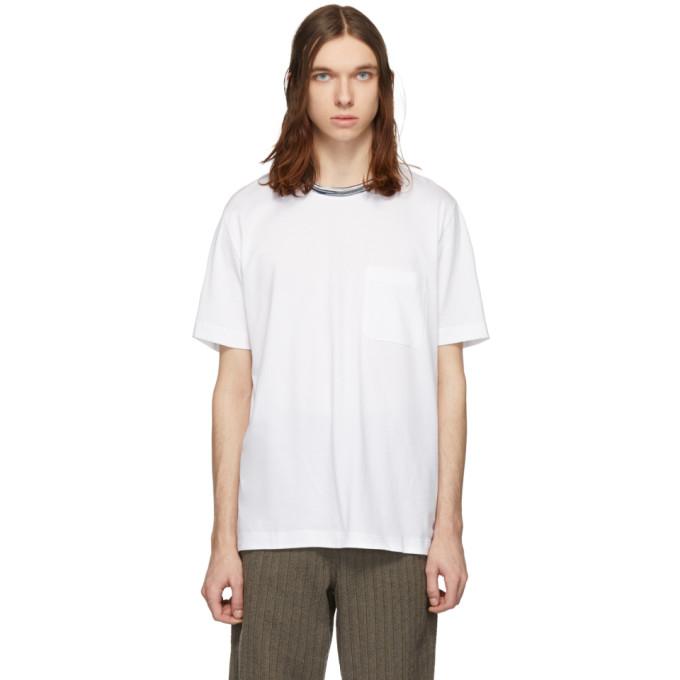 caa36c1d09c2f BUY Missoni White Pocket T-Shirt