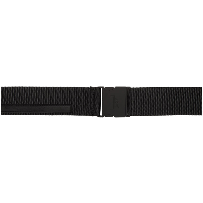 A-Cold-Wall* Ceinture nattee noire