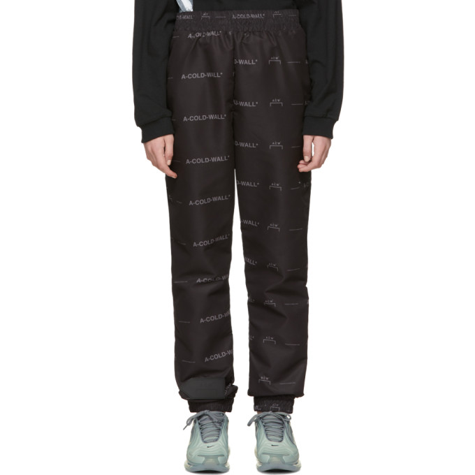 Image of A-Cold-Wall* Black All-Over Lounge Pants