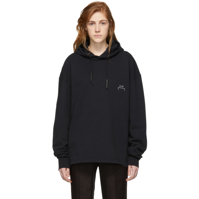 Image of A-Cold-Wall* Black Basic Bracket Hoodie