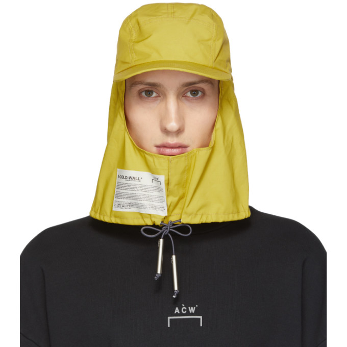 A-Cold-Wall* Casquette jaune Storm