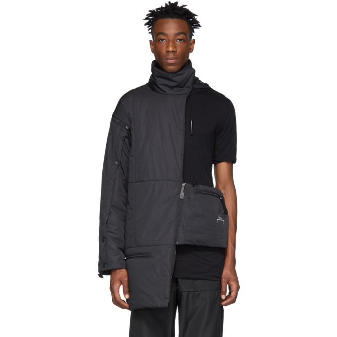 Image of A-Cold-Wall* Black Asymmetric Jacket
