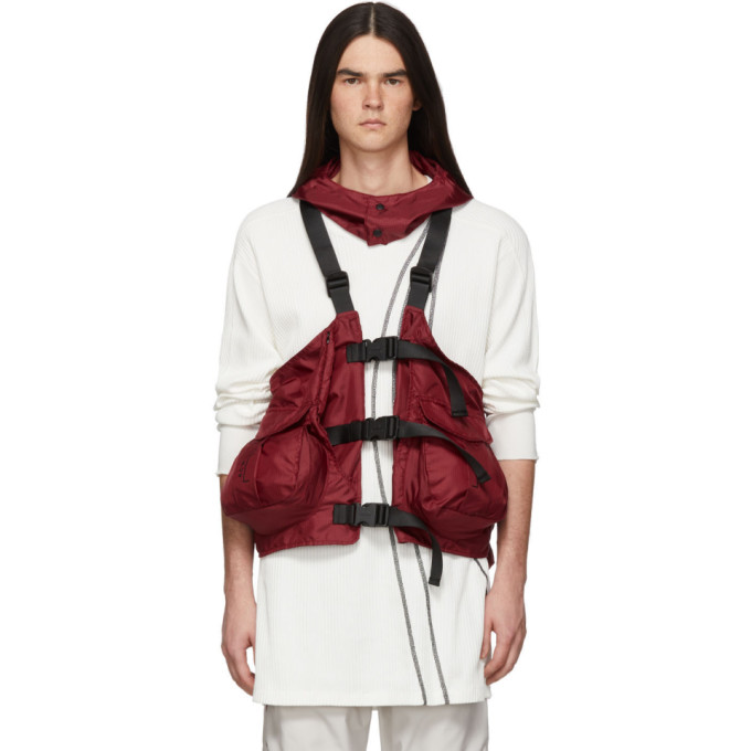 A-COLD-WALL | A-Cold-Wall* Red Gilet Backpack Vest | Goxip