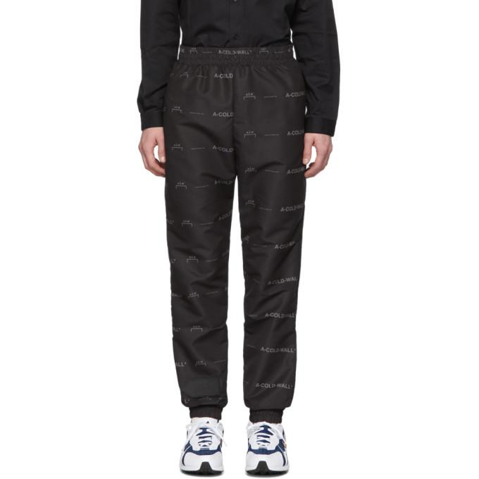 Image of A-Cold-Wall* Black Basic Logo Lounge Pants