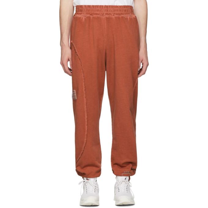 A-Cold-Wall* Pantalon de survetement rouge Restitch