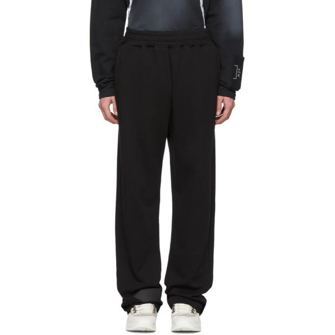 A-Cold-Wall* Pantalon de survetement decontracte noir