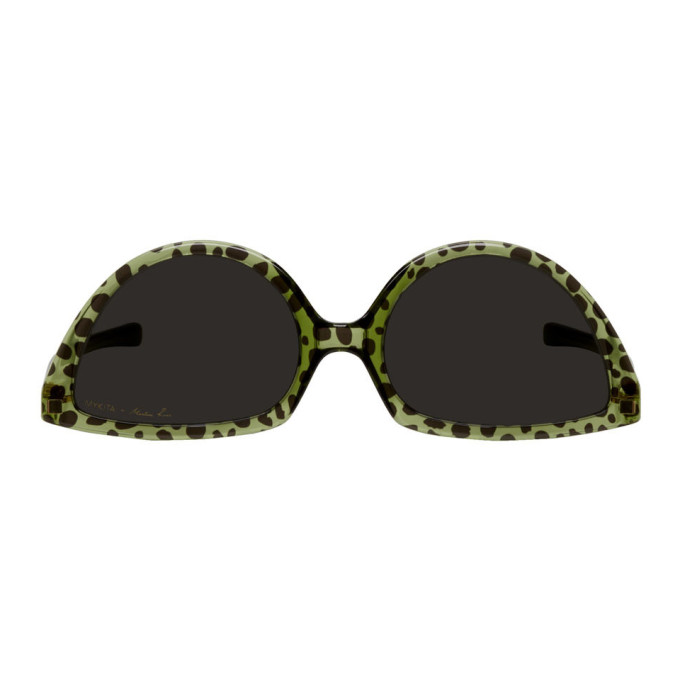 89a1a353ca eTOUNES   Ray Ban Junior Mickey M90th Black Sunglasses Green Lenses ...