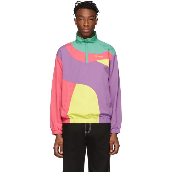 Aime Leon Dore Multicolor Colorblocked Pullover Jacket