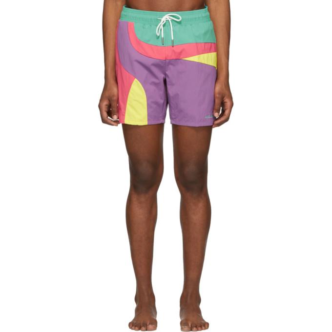 Aime Leon Dore Maillot de bain contraste multicolore