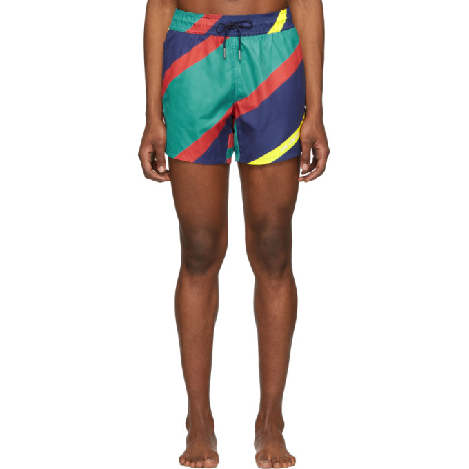 Aime Leon Dore Maillot de bain multicolore Nautical Stripe