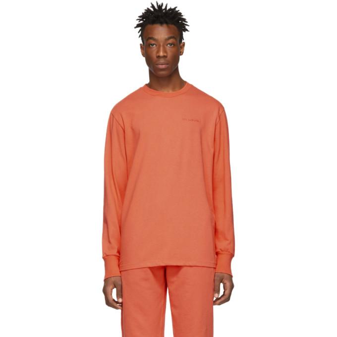 Aime Leon Dore Orange Logo Long Sleeve T-Shirt