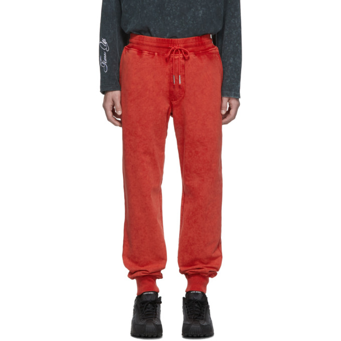 Rochambeau Pantalon de survetement orange edition Yves Scherer