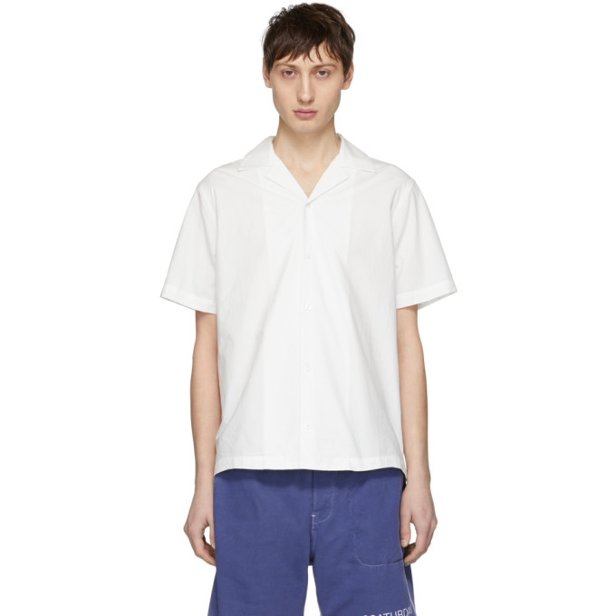 Saturdays NYC Chemise blanche Canty exclusive a SSENSE