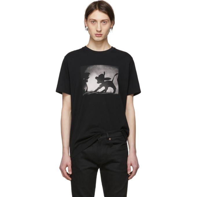 Image of Coach 1941 Black Disney Edition Pinocchio T-Shirt