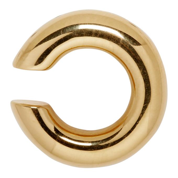 SASKIA DIEZ Saskia Diez Gold Bold Ear Cuff