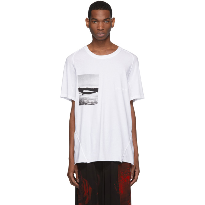 Image of Abasi Rosborough White ARC Graphic T-Shirt
