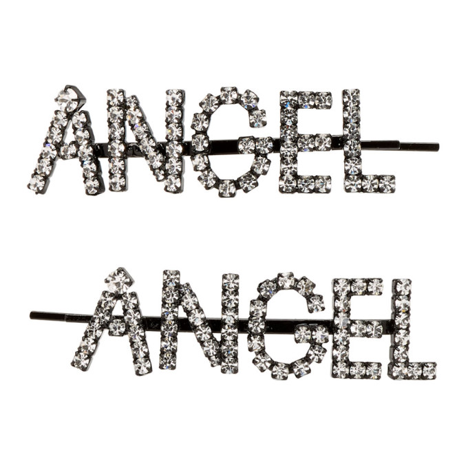 Ashley Williams Accessories ASHLEY WILLIAMS TRANSPARENT ANGEL HAIR CLIP SET