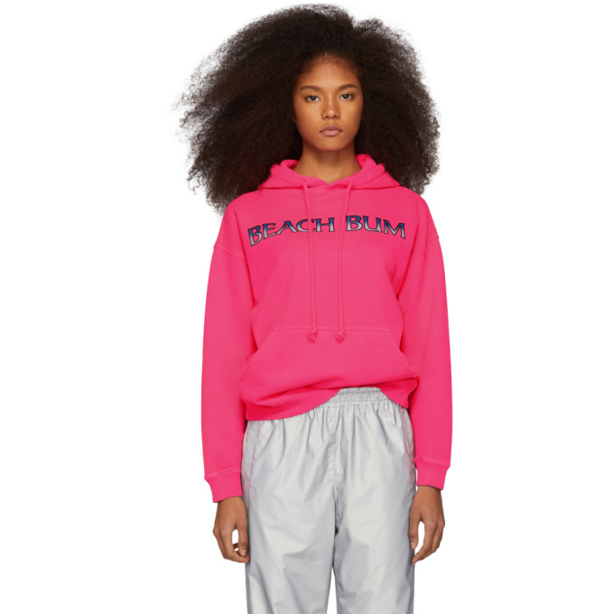 Ashley Williams Tops ASHLEY WILLIAMS PINK BEACH BUM HOODIE