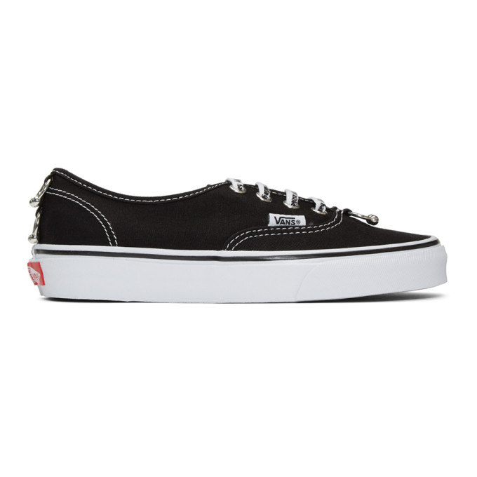 Image of Ashley Williams Black Vans Edition Piercing Authentic Sneakers