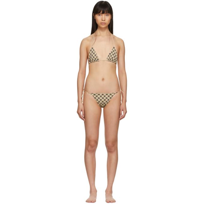 MISBHV Bikini beige Monogram